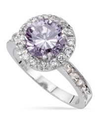 Charter Club Round Cubic Zirconia Ring Only At Macy's Silver
