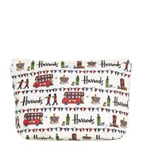 Harrods Street Party Travel Pouch Unisex