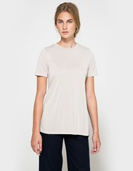 Which We Want Long Line Tee Sand