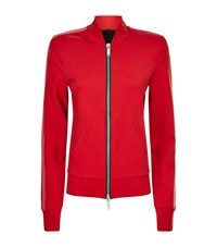 Unravel Jersey Track Jacket Red