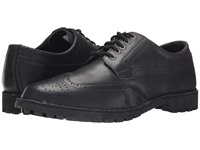 Sebago Metcalf Wing Tip Black Leather Men's Lace Up Wing Tip Shoes