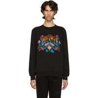 Paul Smith Black Embroidered 'Dreamer' Sweatshirt