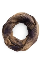 Women's Bp. Ombre Plaid Infinity Scarf