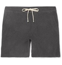 James Perse Cotton Blend Jersey Shorts Charcoal