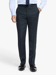 Hackett London Chelsea Tailored Fit Suit Trousers Navy