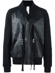 Damir Doma 'Johnson' Leather Jacket Black