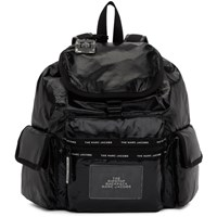 Marc Jacobs Black Ripstop Backpack