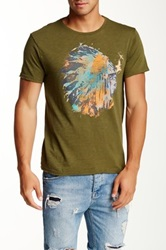 Artisan De Luxe River Graphic Tee Green