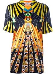 Givenchy 'Optical Wings' Printed T Shirt Multicolour