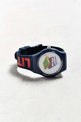 Urban Outfitters Uo Art Watch It's Lit Navy