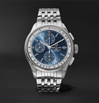 Breitling Premier Automatic Chronograph 42Mm Stainless Steel Watch Ref. No. A13315351c1a1 Blue