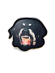 Givenchy Rottweiler Pin Badge Black