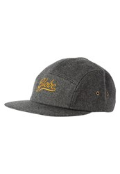 Globe Longmore Cap Black Dark Grey