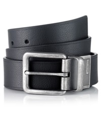 Calvin Klein Jeans Big Buckle Belt Black Brown
