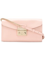 Furla Metropolis Pouch Pink And Purple