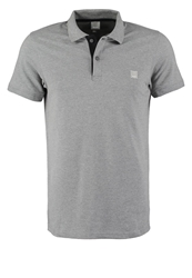 Bench Crystalline Polo Shirt Stormcloud Marl Dark Gray