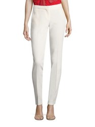 Boss Tilani Solid Trousers Vanilla Light