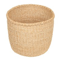 The Basket Room Linear Fusion Utulivu Hand Woven Neutral