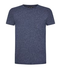 Tom Ford Chest Pocket T Shirt Male Blue