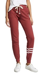 Sol Angeles Essential Joggers Rouge