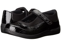Drew Shoe Rose Black Croc Women's Shoes