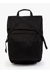 Christopher Raeburn Black Cotton Backpack