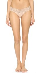 Hanky Panky Cotton With A Conscience Petite Low Rise Thong Chai