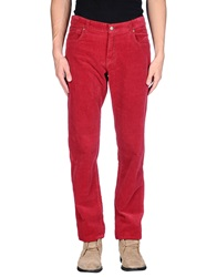 Brooksfield Casual Pants Red