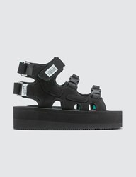 Suicoke W's Black Ankle Cuff Sandals