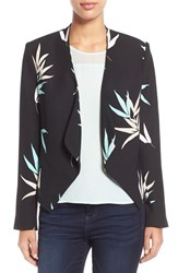 Women's Vince Camuto 'Floating Leaves' Drape Front Blazer