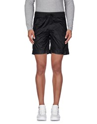 Selected Homme Trousers Bermuda Shorts Men Black