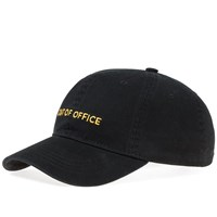 Wood Wood Out Of Office Low Profile Cap Black