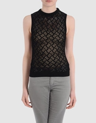 Antipodium Sleeveless Sweaters Grey