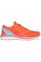 Athletic Propulsion Labs Joyride Mesh And Faux Leather Sneakers Coral