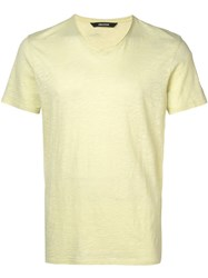 Zadig And Voltaire Terry T Shirt Yellow