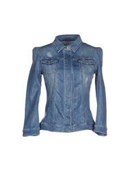 Atos Lombardini Denim Outerwear Blue