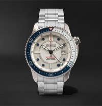 Bremont Supermarine Waterman Limited Edition Automatic 43Mm Stainless Steel And Kevlar Watch White