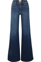 Frame Le Palazzo High Rise Wide Leg Jeans Light Denim