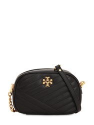 Tory Burch Quilted Leather Shoulder Bag Black