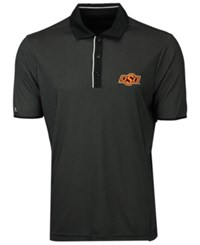 Antigua Oklahoma State Cowboys Draft Polo Black