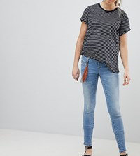 Mama Licious Mamalicious Jeans With Bump Band Blue Denim