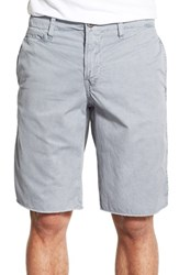 Men's Original Paperbacks 'St. Barts' Raw Edge Shorts Light Grey
