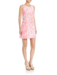 Lilly Pulitzer Sea Dreaming Callie Shift Dress Pink Sun Rise