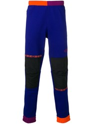 The North Face Panelled Track Pants Purple