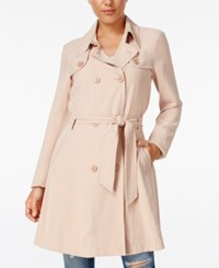 Guess Manning Trench Coat Rugby Tan Multi