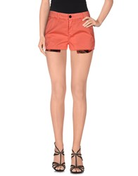 Franklin And Marshall Trousers Shorts Women Coral