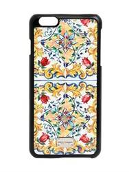 Dolce And Gabbana Majorca Printed Iphone 6 Plus Case