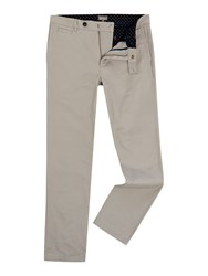 Linea Russell Cotton Chinos Light Grey