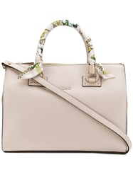 Liu Jo Structured Tote Bag Neutrals