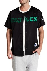 Mitchell And Ness Nfl Eagles Mesh Front Button Shirt Multi